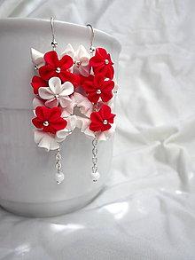 Náušnice - Červená čiapočka - 4561026_
