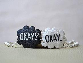 Náramky - OKAY? OKAY. (náramok) - 4563937_