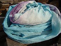 - Modro-fialový šál - 4563684_