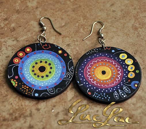 d3a5b6500 Náušnice Hippie / LucLac - SAShE.sk - Handmade Náušnice