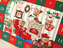Dekorácie - Adventní kalendář - Meďánkové Vánoce - 4563544_