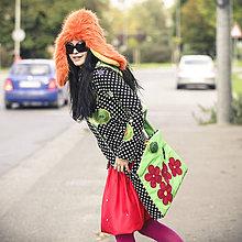 Veľké tašky - Origo taškoš kvety - 4567506_