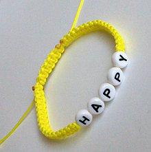 Náramky - Shamballa náramok s písmenkami - 4566000_