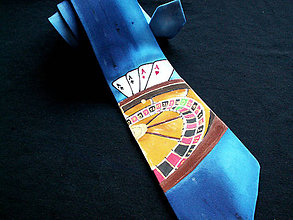 Doplnky - Hodvábna kravata Ruleta - 4565984_