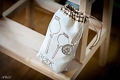 Úžitkový textil - Vrecko na MAK - 4571008_