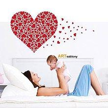 Dekorácie - (3422n) Srdcové srdce - 4569352_