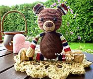 Návody a literatúra - Háčkovaný medvedík - návod - 4568379_