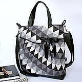 Kabelky - Miss fancy (triangles) - 4568426_