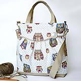 Kabelky - Miss fancy (owls) - 4568488_