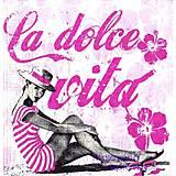- retro žena v ružovom - 4569244_
