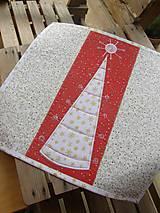 Úžitkový textil - Vianočné prestieranie No.6 :) - 4568095_