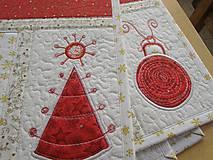 Úžitkový textil - Vianočné prestieranie No.6 :) - 4568100_