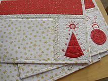 Úžitkový textil - Vianočné prestieranie No.6 :) - 4568101_