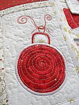 Úžitkový textil - Vianočné prestieranie No.6 :) - 4568102_