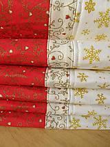Úžitkový textil - Vianočné prestieranie No.6 :) - 4568111_