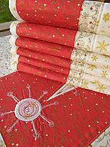 Úžitkový textil - Vianočné prestieranie No.6 :) - 4568112_
