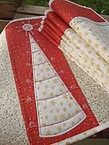 Úžitkový textil - Vianočné prestieranie No.6 :) - 4568115_