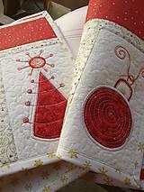 Úžitkový textil - Vianočné prestieranie No.6 :) - 4568120_