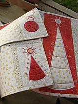 Úžitkový textil - Vianočné prestieranie No.6 :) - 4568121_