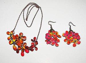Sady šperkov - jesenné kvety set - 4572609_