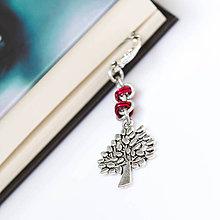 Papiernictvo - Záložka do knihy - Červený strom - 4572756_