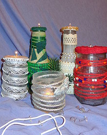 Nezaradené - sklíčko s knôtom do olejovej lampy - 4576074_