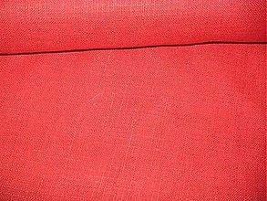Textil - Ľan červený - 4572842_