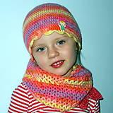 Detské súpravy - Komplet v dúhových farbách - 4573078_