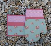 Úžitkový textil - set rukavica + chňapka Anna - 4579018_