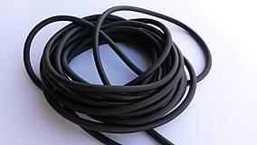Suroviny - Dankung 2040, čierna; 50cm - 4578457_