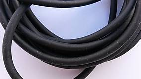 Suroviny - Dankung 2040, čierna; 50cm - 4578458_