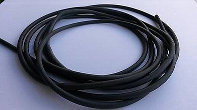 Suroviny - Dankung 1745, čierna; 50cm - 4578507_