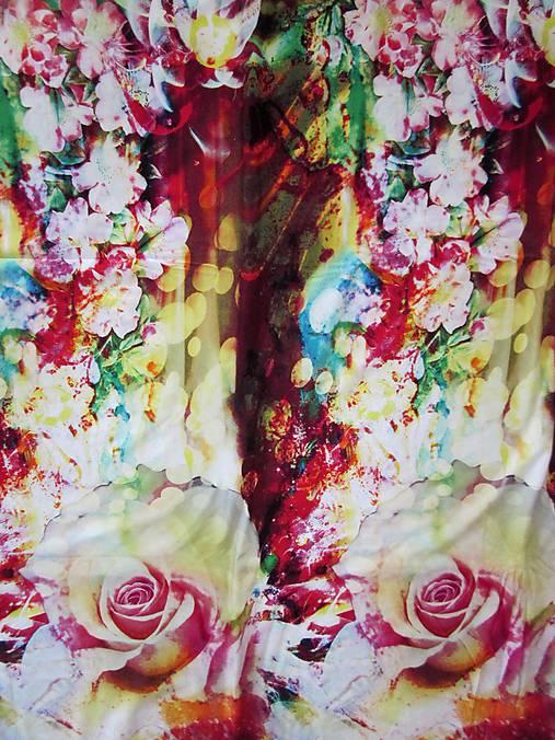 15c442d3b444 Úplet Digital print Zľava 30%   ZoeFabrics - SAShE.sk - Handmade Textil