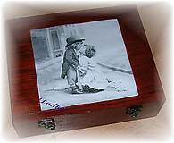 Krabičky - 12 priečinková krabica nielen  na čaj  - 4576553_
