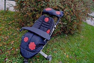 Galantéria - Nášivka kvetinky veľká - 4582830_