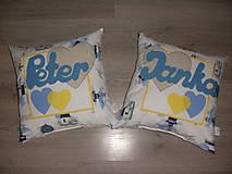 Úžitkový textil - Janka a Peter :) - 4582236_