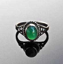 Prstene - Chalcedony ring - 4586705_