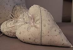 Úžitkový textil - košík na pečivo - snehovo biela - strieborný vzor - 4585419_