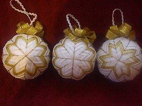 Dekorácie - Vianočné gule - 4584284_