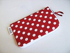 Na mobil - RED DOTS - PUNTÍKATÝ obal na telefon :-) - 4586455_
