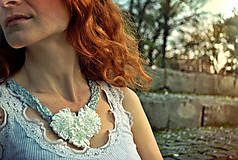 Náhrdelníky - Svadba v zámockej záhrade - 4587546_