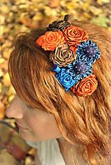 Ozdoby do vlasov - Hrejivá jeseň - 4587602_