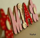 Detské doplnky - Drevené písmenká MIA - 4588380_