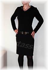 Šaty - Šaty s kapucí vz.218(více barev) - 4590695_