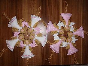 Darčeky pre svadobčanov - Anjelky v ružovom - 4587426_