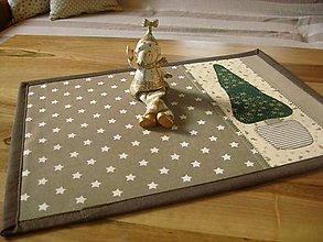 Úžitkový textil - vianočné, prírodné... - 4590064_