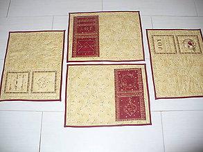 Úžitkový textil - Vianočné prestieranie Pošta - 4591387_