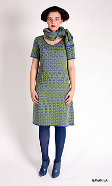 Šaty - vzorované princes šaty APOLENA - 4587233_