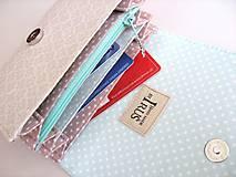 Peňaženky - Červánky v Paříži - peněženka i na karty - 4587124_