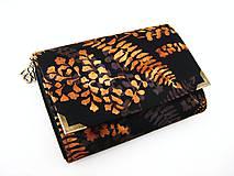Peňaženky - Zlaté kapradí - i na karty - 4587211_